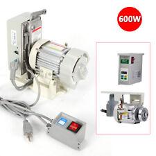Brushless Industrial Sewing Machine 600w Electric Servo Motor 110v Split Motor
