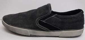 548f79805eb Image is loading Steve-Madden-Size-7-Black-Canvas-Loafers-New-