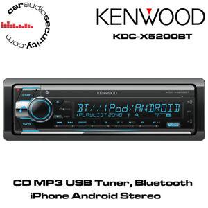 67502fd34f3 La imagen se está cargando Kenwood-KDC-X5200BT-sintonizador-de-CD-MP3-USB-