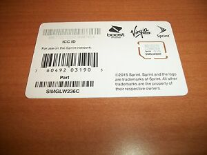 Virgin mobile sim cards