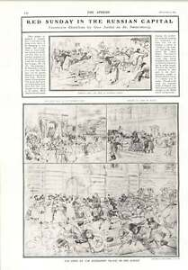 1905-Red-Sunday-Russian-Capital-Stroganoff-Palace-Dead-On-Sledges