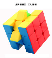 3x3x3 Fast Stickerless Speed Cube Magic puzzle twist fresh World Record 5.25s