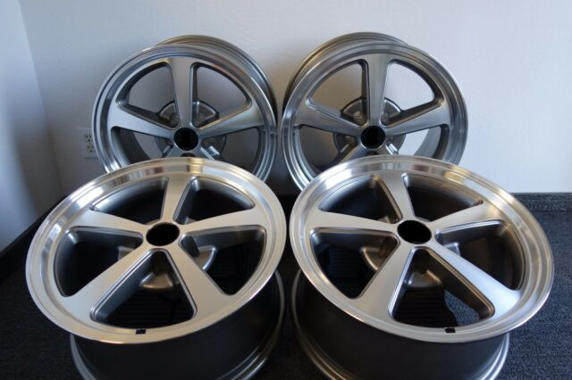 AFS Wheels fits: 1994-2014 Ford® Mustang® Set of 4 18 x 9 Mach 1 Style Rims 04