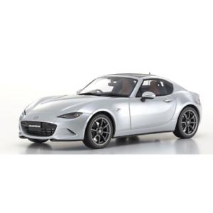Mazda Roadster Rf Contre Argent Kyosho 18025s 1:18 Modèle Résine