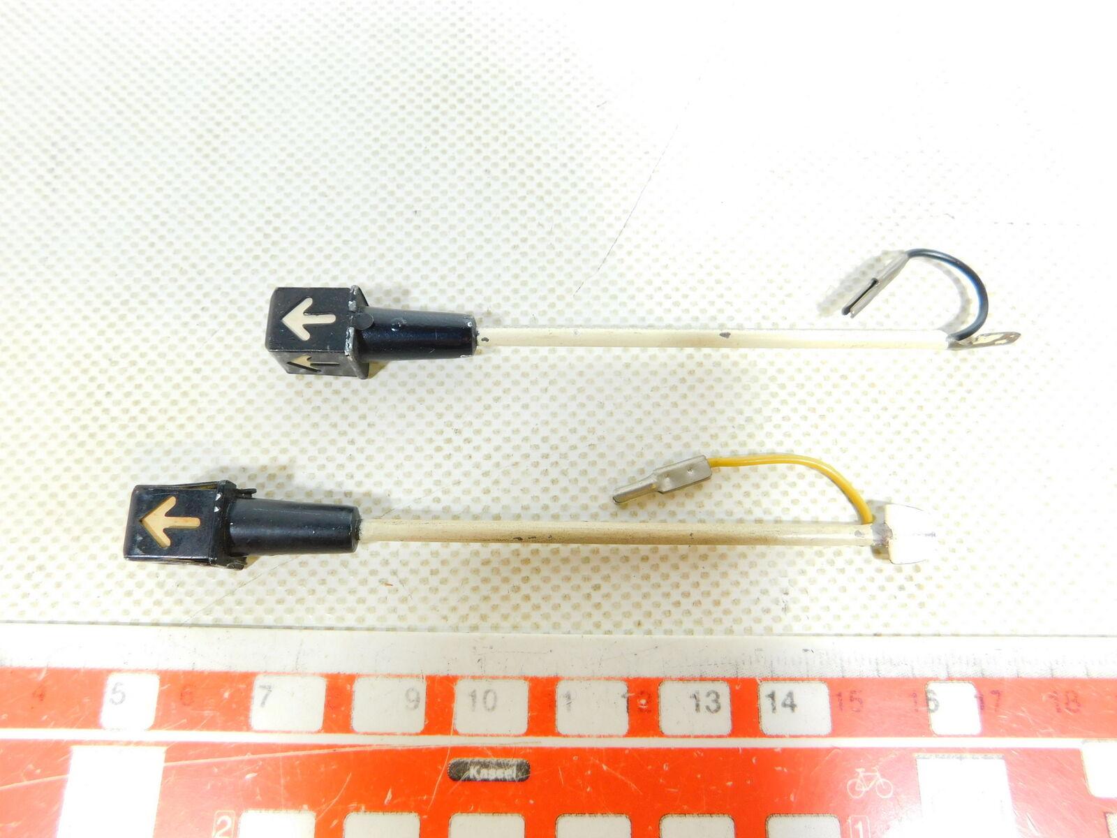 BX584-0,5  2x Märklin H0  Palo 00  Ac Palo  Della Luce per Raccordi 3600 800, Testato 3d7651