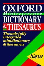 The Oxford Minireference Dictionary & Thesaurus