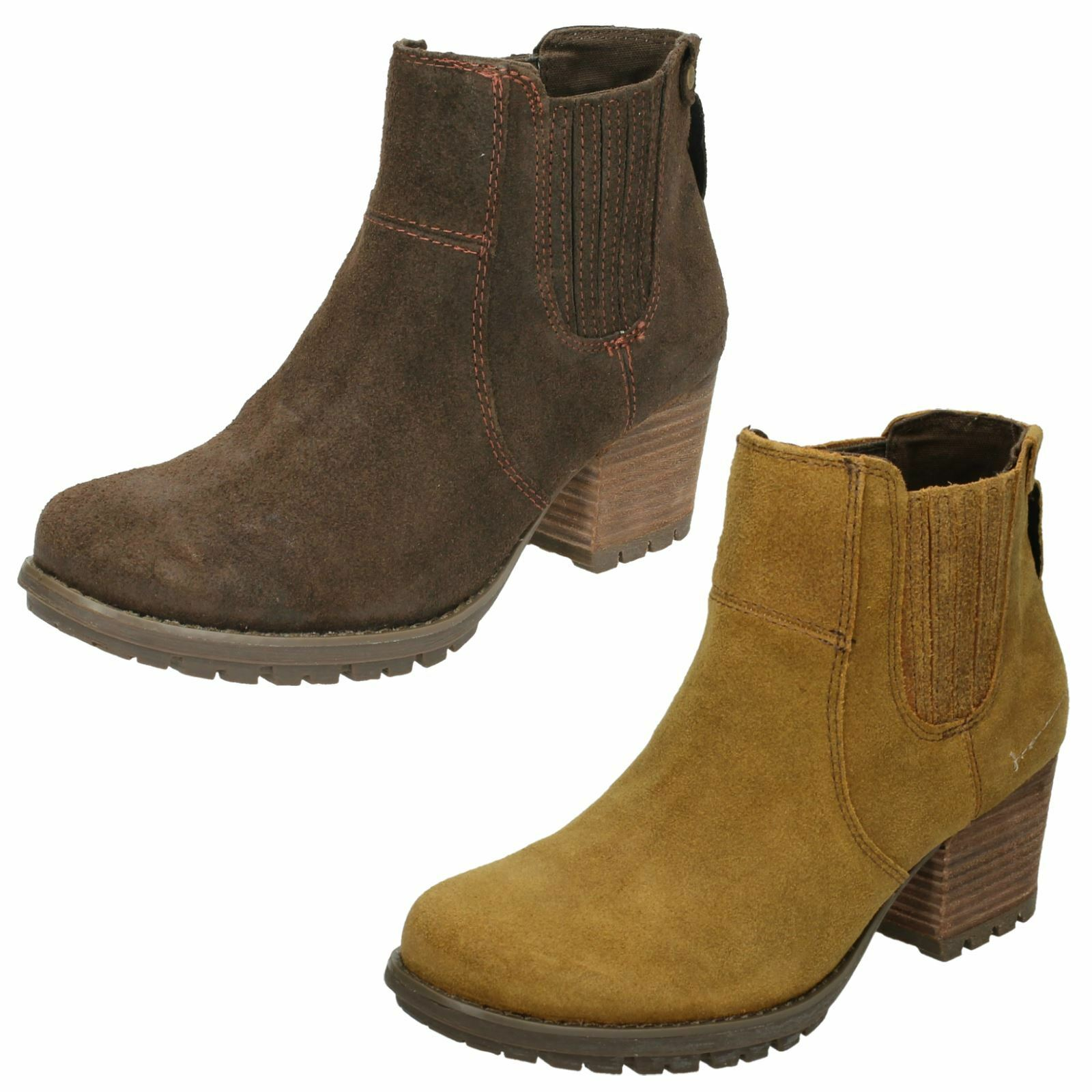 Damas Caterpillar Caterpillar Caterpillar Slip On botas al tobillo-Allison f75f50