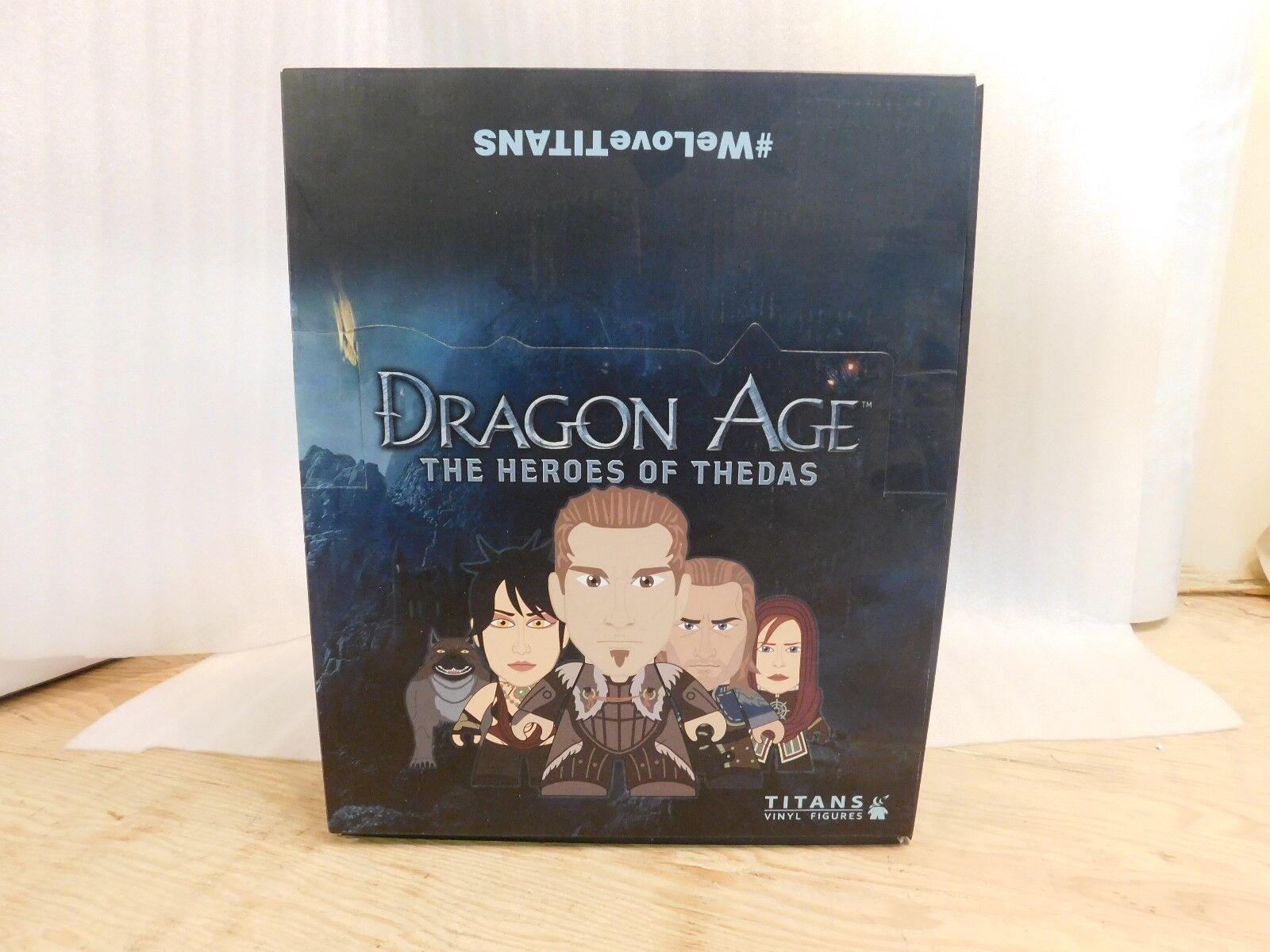 Dragon Age Heroes of Thedas Titans Titan Vinyl Display Blind Box Case of 20