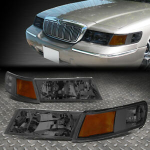 Image Is Loading For 1998 2002 Mercury Grand Marquis Smoked Housing