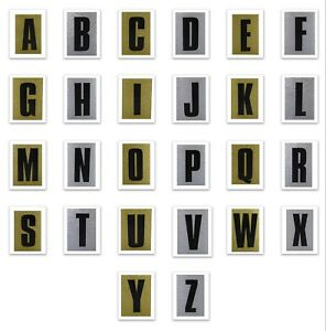 """Pack of 63 x 3/"""" 75mm White Viny Self-Adhesive Letters,Signs,Vehicles,Boats etc"""