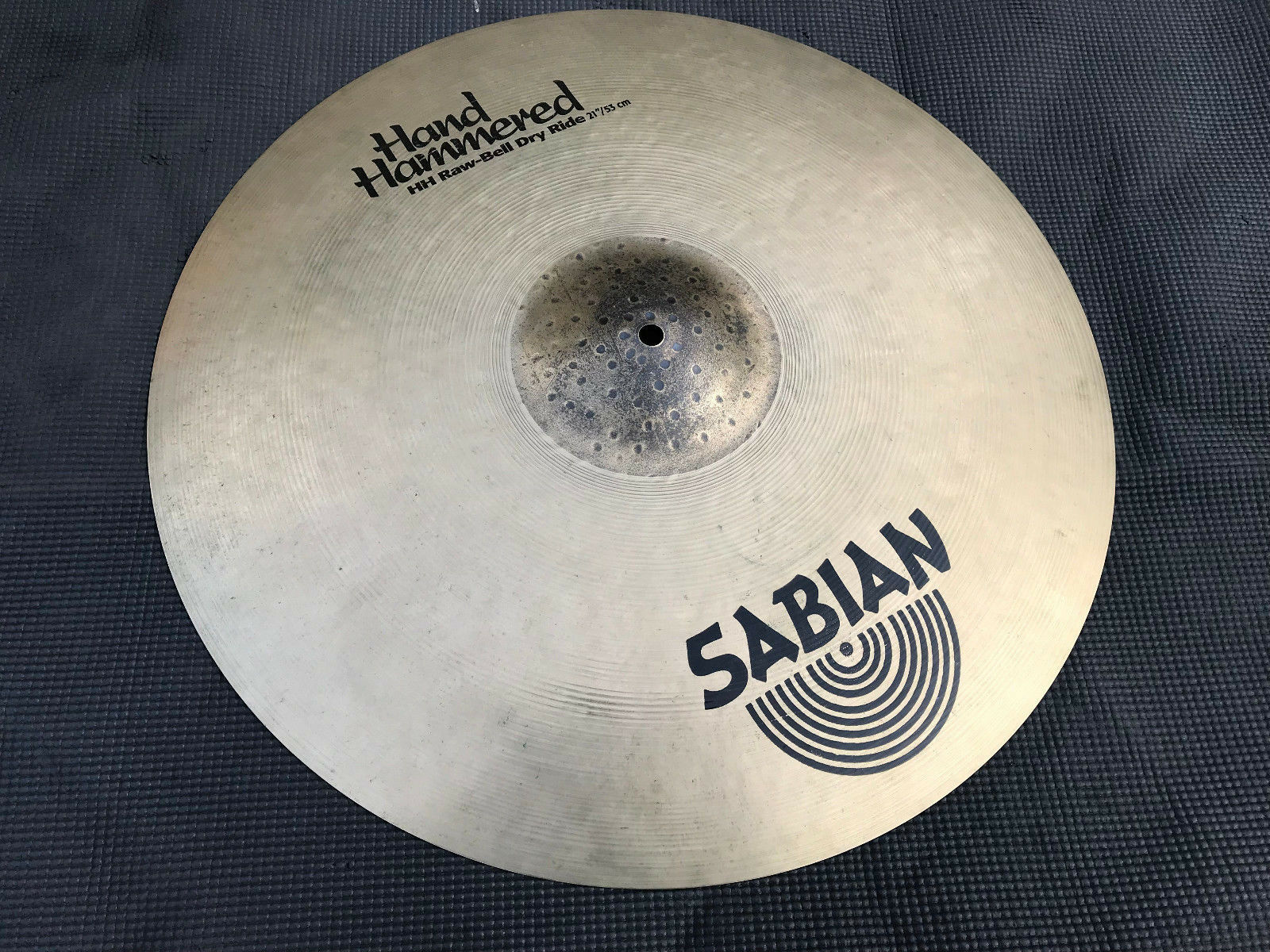 Sabian 21  HH Hand Hammered Raw Bell Dry Ride