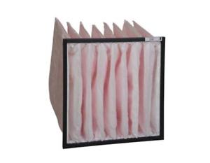 Taschenfilter-aus-synthetischem-Filtermedium-Kunststoffrahmen-F7-600-mm-Laenge