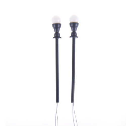 10pcs 1:100 Single Head Model Lights Garden Lamp With Wires and Bulbs To xl