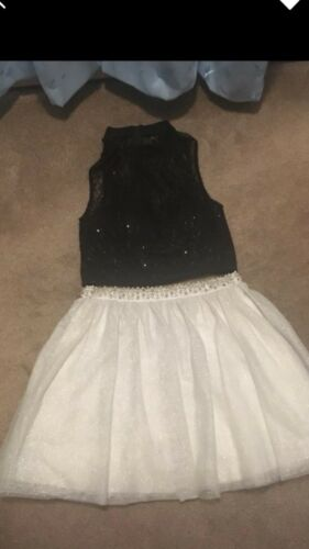 Juniors 7/8 Two Piece Dress. Formal, prom,homecomi
