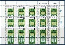 ISRAEL 2000 INTERNATIONAL COMMUNICATION  DAY SHEET MNH