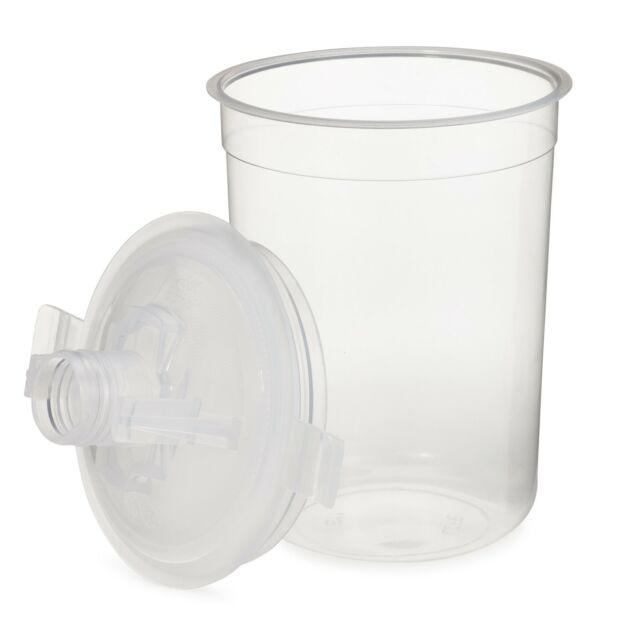 3M-16115 PPS MINI SIZE STARTER KIT HARD CUP WITH 25 LIDS AND LINERS 3M-16115