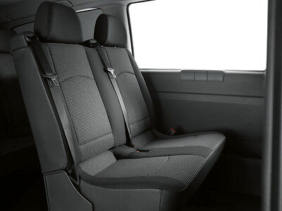 Single Heavy Duty Driver Captain Passenger Van Car Seat Cover Protector Waterproof 1 x Front BLACK For Mercedes Vito 2014