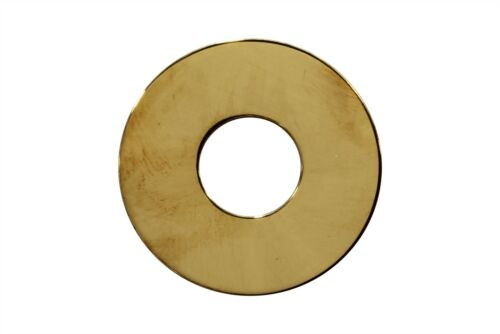 Blank Metal Toggle Switch Ring Plate for Gibson Les Paul Guitars