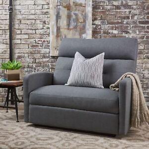 Magnificent Hana Plush Cushion Tufted Back Loveseat Recliner Ebay Spiritservingveterans Wood Chair Design Ideas Spiritservingveteransorg