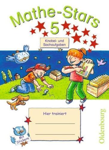 1 von 1 - Mathe-Stars 5. Schuljahr. Knobel- und Sachaufgaben von Ursula Kobr 17A