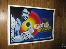 Elvis on Tour Repro Advertising POSTER