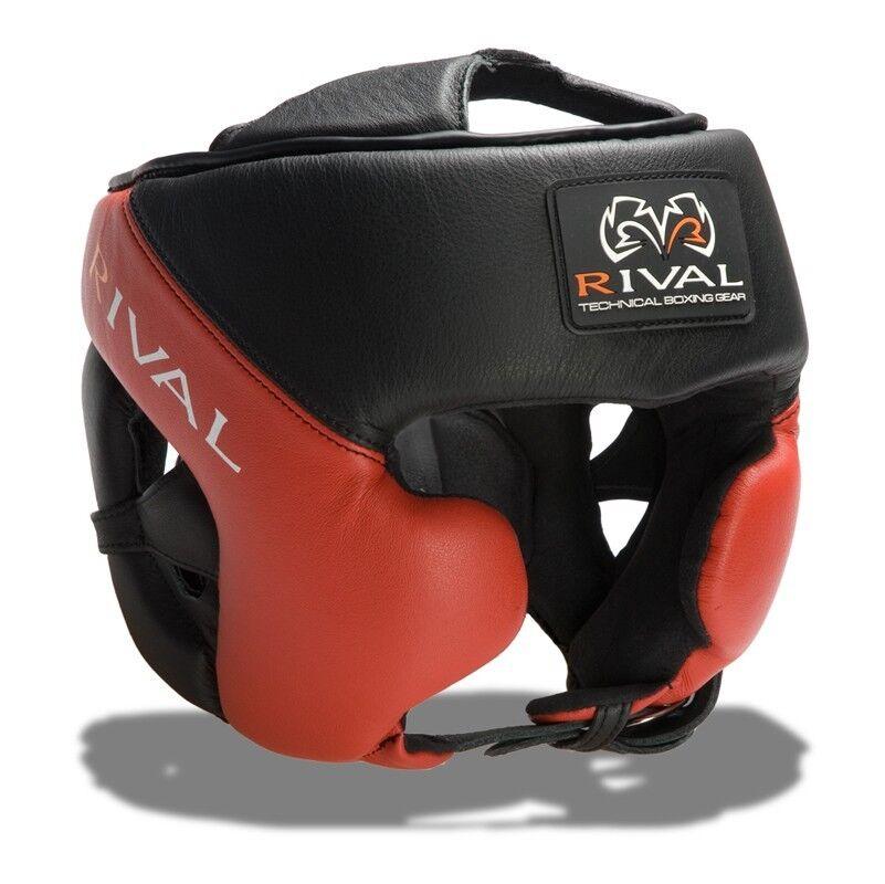 Rival Rival Rival RHG Pro BK RD Kopfschmuck Boxen Kickboxen MMA Thai Boxen UFC 433786