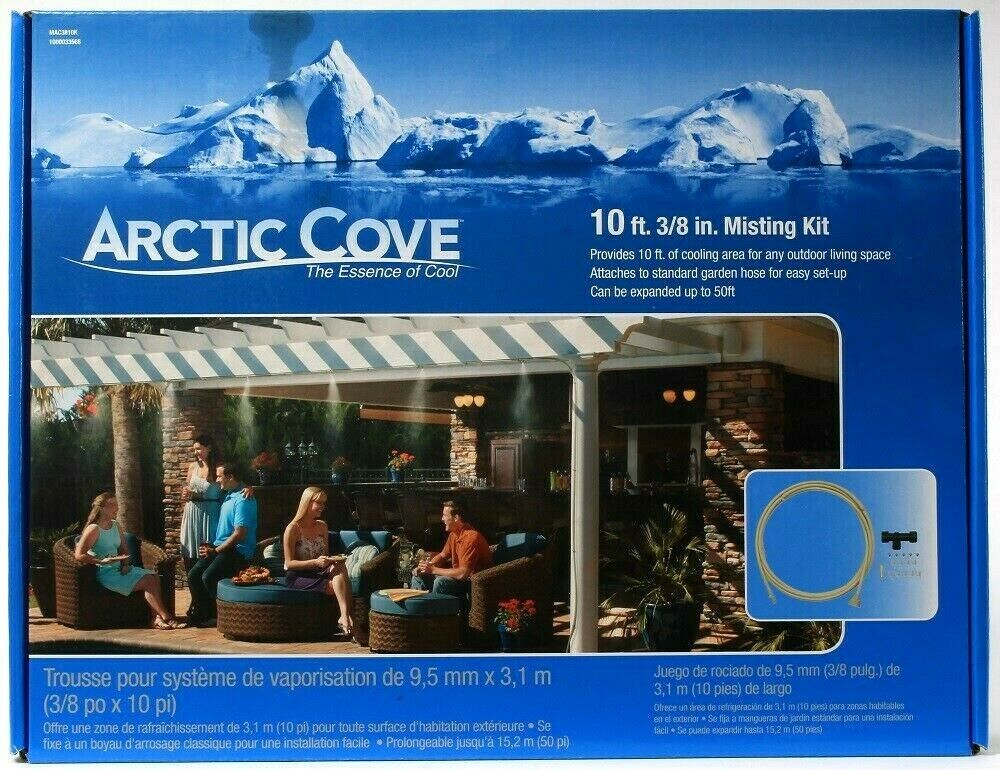 1 Count One World Technologies Arctic Cove 10 Ft 3/8 in Misting Kit Outdoor Cool