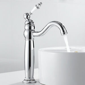 Tradition Kitchen Sink Faucet /Kitchen Sink Basin Mixer Tap Antique Bathroom Sink Faucet Basin Mixer Tap Cloakroom Basin Sink Mixer Tap Basin Mixer Tap Hot and Cold two handle tap Sink Faucet