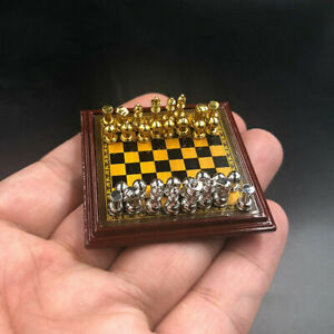 1-6-Scale-DIY-Scene-Accessories-Chess-Model-Toy-Metal-Set-fit-12-034-Action-Figure