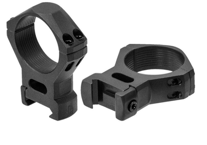 Leapers UTG Steel Weaver/Picatinny Rifle Scope Mount Rings - 34mm HIGH RSW4204