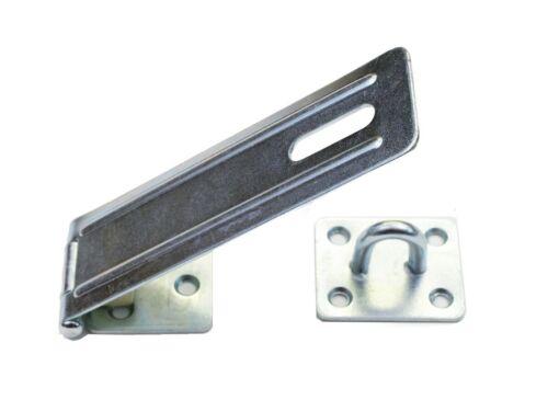 En acier galvanisé Heavy Duty Hasp /& Staple 130 mm x 40 mm serrure de porte cadenas loquet