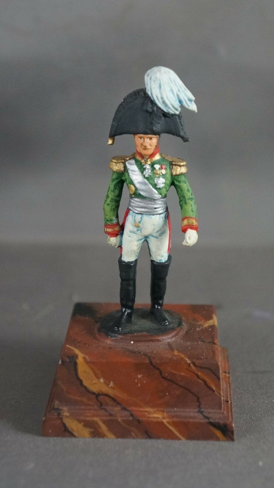 Napoleonic Wars 54mm metal French Field Marshall Ney figure miniature Napoleon
