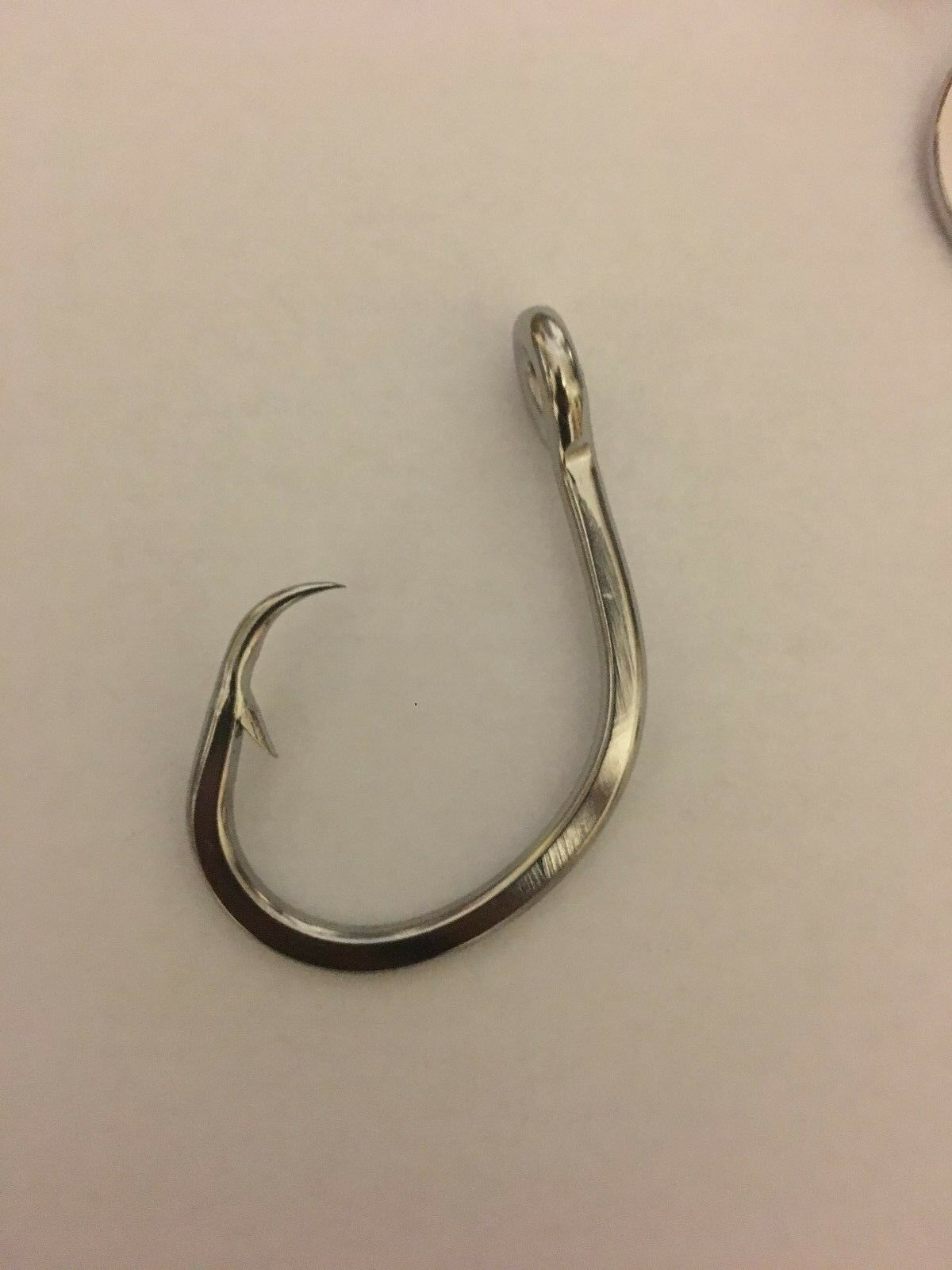 50 pcs  0 Stainless Steel Circle Tuna Fish Hook  (50 Hooks)  more discount