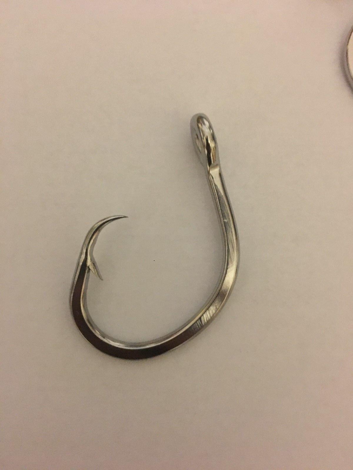 50 pcs  0  Stainless Steel Circle Tuna Fish Hook (50 Hooks)  in stadium promotions
