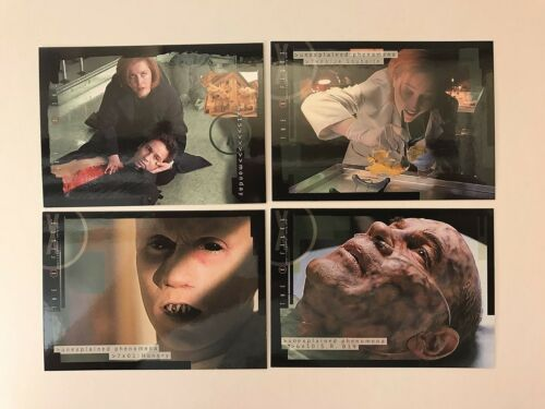 X-FILES SEASONS 6 /& 7 Inkworks Complete Card Set GILLIAN ANDERSON w// PROMO #X67i