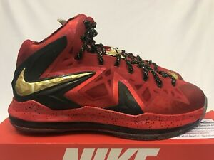 67231584112 Nike Lebron 10 X Championship Pack(HIGHS Only) Celebration ELITE MVP ...