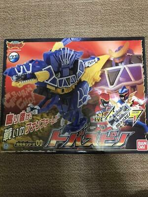 Bandai Power Rangers Dino Charge Kyoryuger Jyudenryu DX 00 Tobaspino Used