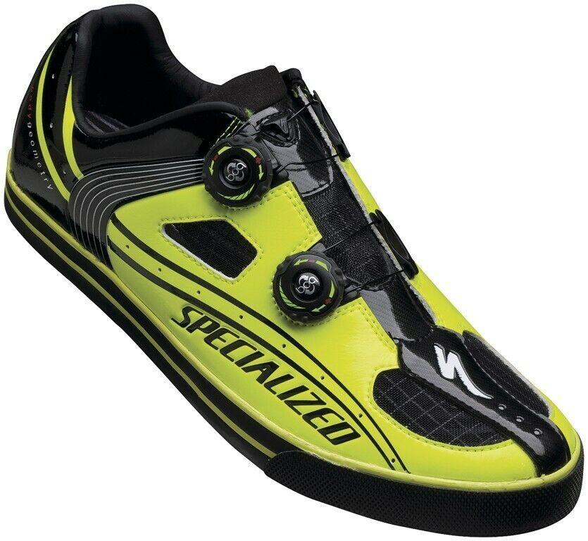 Especializado cerca II Para Hombre Informal Zapato EU 40 nos 7 Ion Negro Nuevo