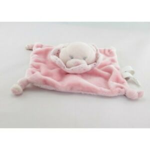 Doudou-plat-ours-rose-pois-KIMBALOO-Ours-Plat-Semi-plat
