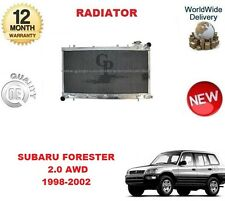 FOR SUBARU FORESTER 2.0 AWD 1998-2002 NEW RADIATOR UNIT