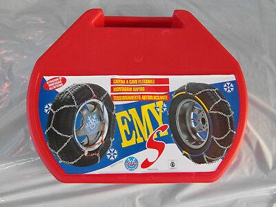 Catene neve per autovetture MAGGI THE ONE 195//65 R15 9mm autotensionanti zincata