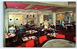 Lodge-Drake-OakBrook-Hotel-Restaurant-Oak-Brook-Illinois-Vintage-Postcard-C76