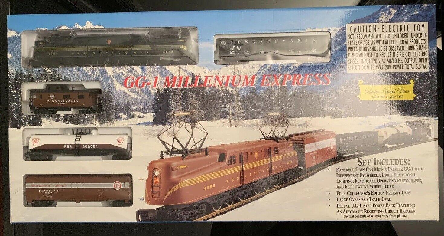 IHC GG-1 Millenium Express Escala Ho listos para ejecutarse Pennsylvania Personalizado Conjunto de Tren