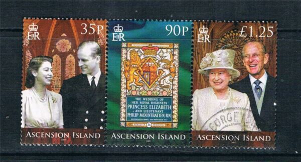 Provided Ascension 1986 Wedding Set Sg 407-408 Mnh. Stamps British Colonies & Territories