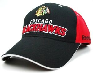 Chicago-Blackhawks-Reebok-N794Z-Team-Logo-Hockey-Cap-Hat-OSFM