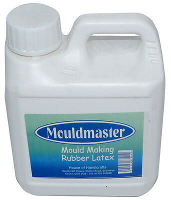 1 litre Liquid Latex Rubber Mould Making /Dipping /Crafts/SFX