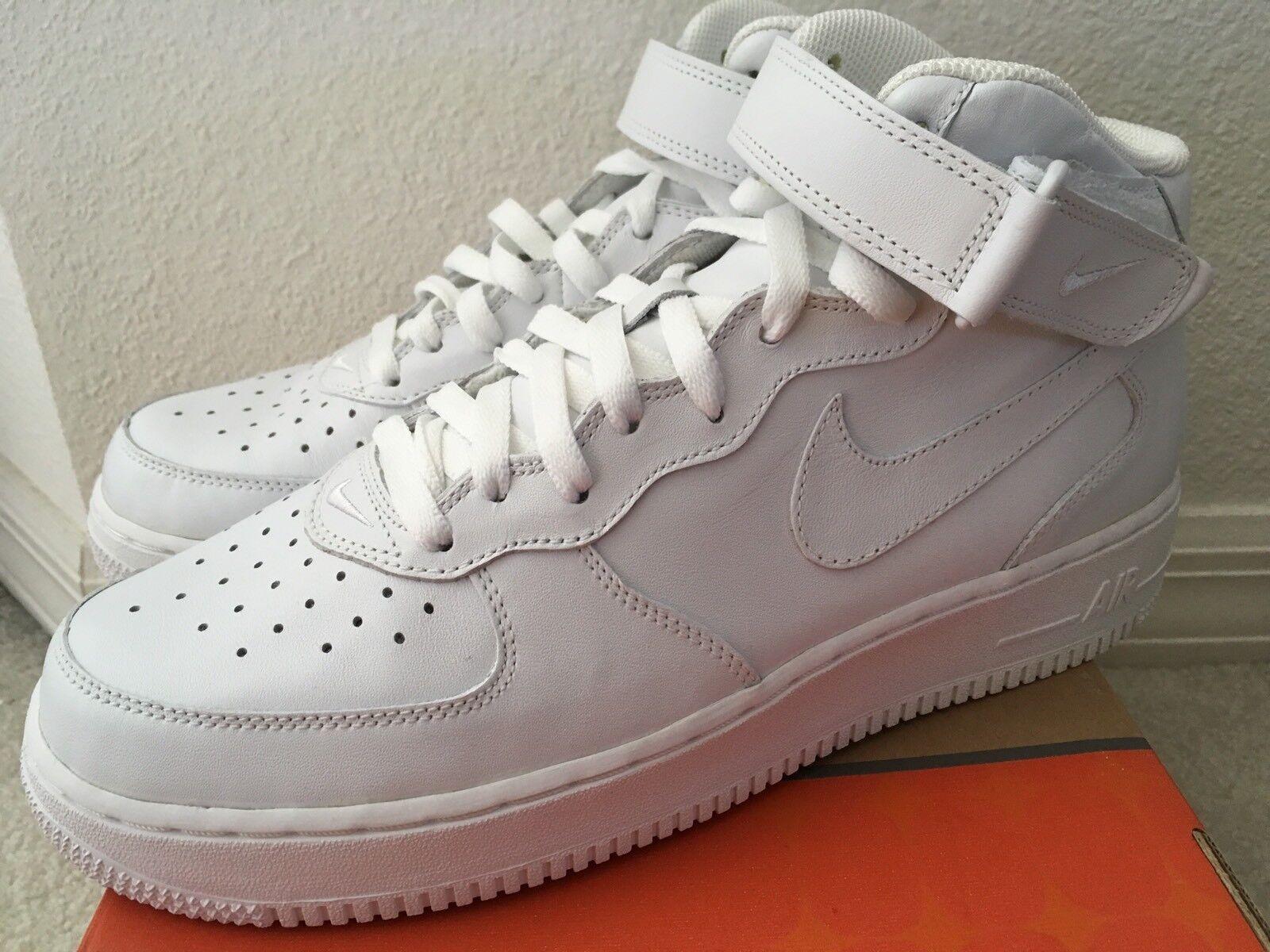 Nike Air Force 1 Mid 03 White Men Sz 9.5306352-113