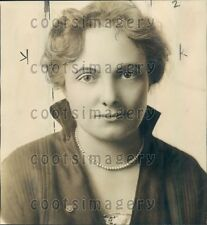 1925 Dorothy A Gerber Wife of Daniel Gerber Baby Food Products Press Photo