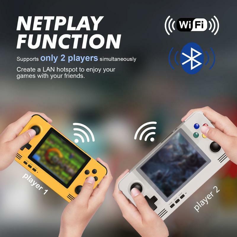 videogiochi e console: Retroid Pocket 2 Retro Pocket Handheld Game Console 3.5 Inch IPS Screen 3D Games