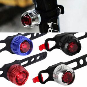 Fanale-Faretto-Fanalino-Posteriore-Bici-MTB-LED-Rosso-IMPERMEABILE-2-Modelli